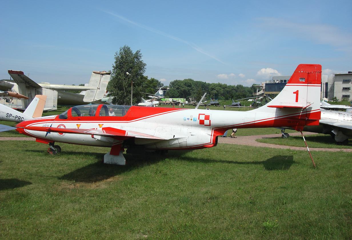 TS-11 Iskra nr 1H 07-30 nb 1. 2007 rok. Zdjęcie Karol Placha Hetman