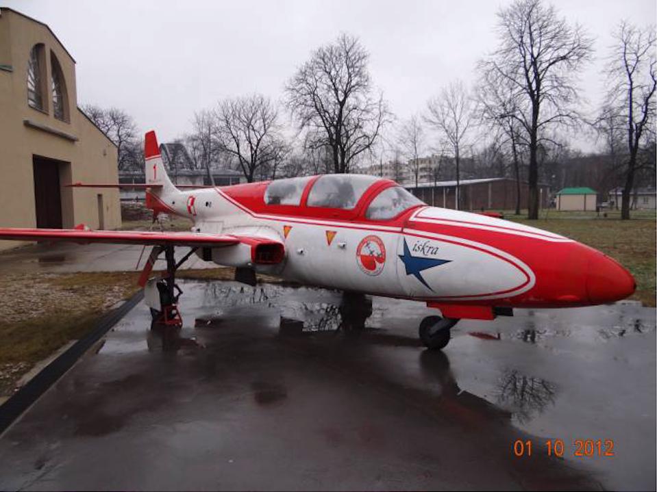 TS-11 Iskra Muzeum Lotnictwa Polskiego 2012 rok. Zdjęcie Karol Placha Hetman