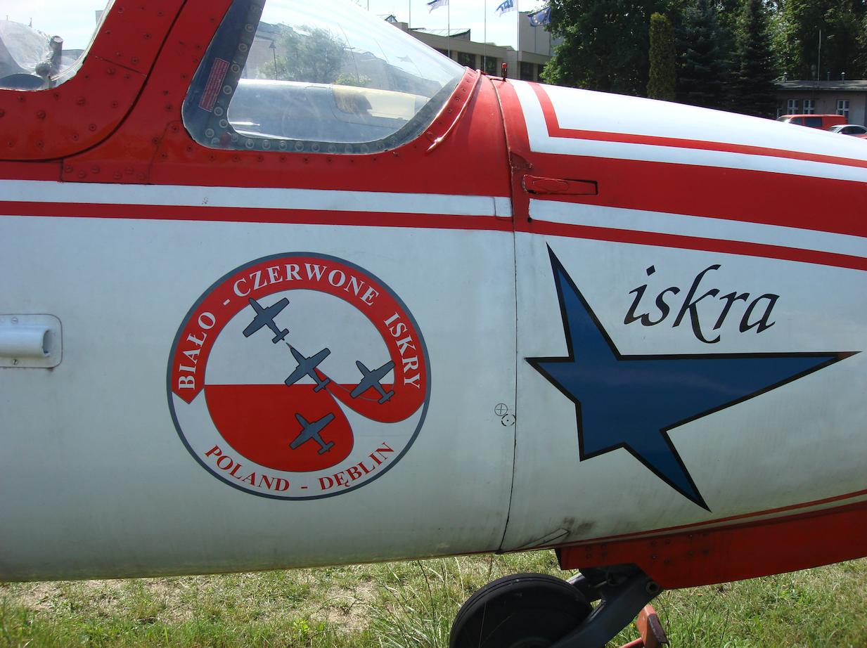 TS-11 Iskra nr 1H 07-30. 2007 rok. Zdjęcie Karol Placha Hetman
