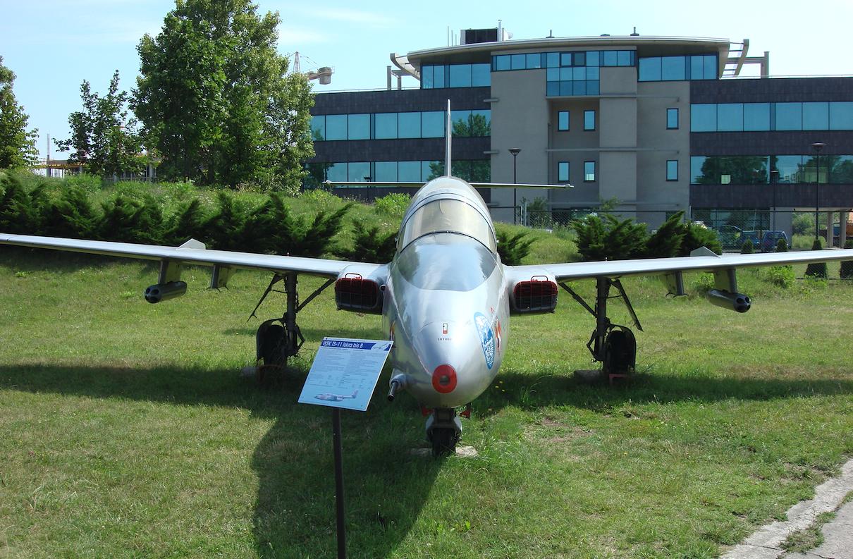TS-11 Iskra nb 1007. 2007 rok. Zdjęcie Karol Placha Hetman