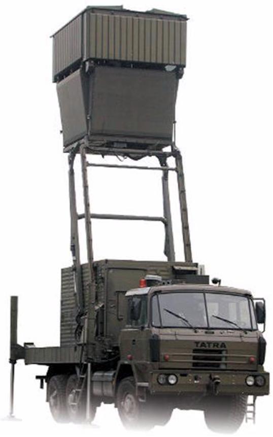 Radar TRC-20. Zdjęcie PIT