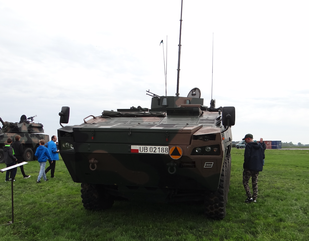 Rosomak's command car. Inowrocław 2019. Photo by Karol Placha Hetman