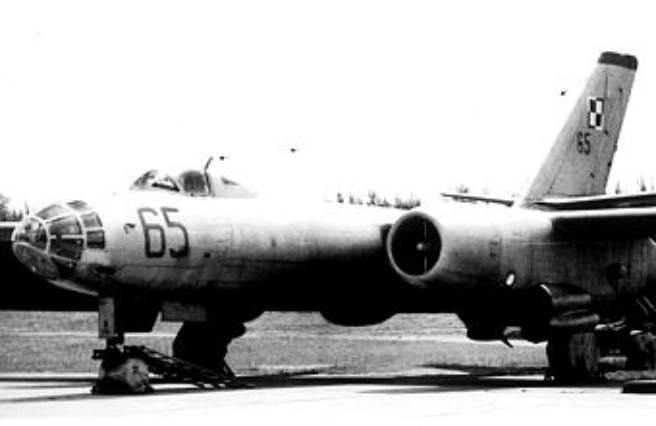 Ił-28 E samolot walki elektronicznej