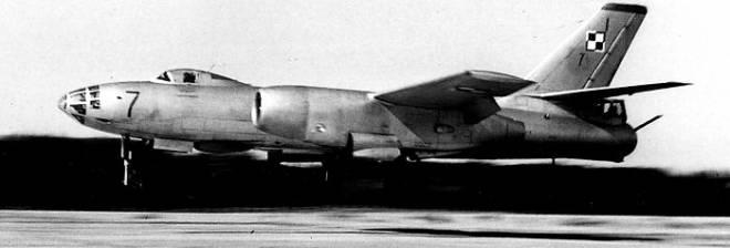 Ił-28 – powrót z zadania