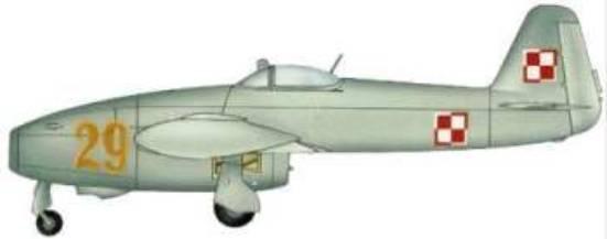 Jak-17 żółta 29