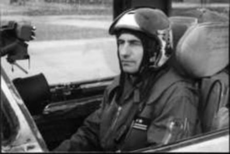 Ppłk pilot Henryk Przychodzień